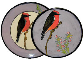 Rainbow Gate-Vermillion Flycatcher